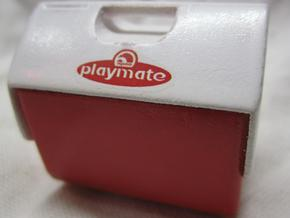 1:10 Scale Playmate Cooler in White Strong & Flexible