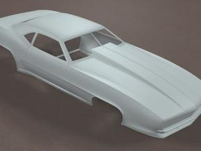 1/16 Scale Pro Modified 1969 Camaro in White Strong & Flexible