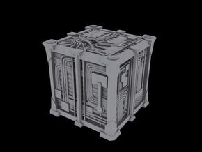 Cyborg Scout Cube V2 1/2500 Scale in Frosted Ultra Detail
