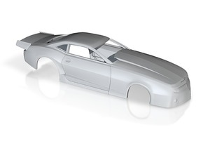 1/24 2013 Pro Mod Camaro Body in White Strong & Flexible Polished