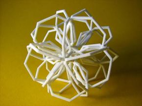 Thirty Heptagons in White Strong & Flexible