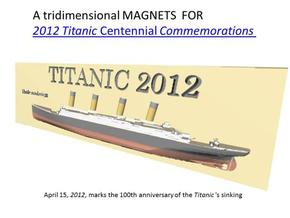 titanic magnets already colored  in Full Color Sandstone