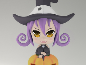 Blair Nendoroid Bust in White Strong & Flexible Polished