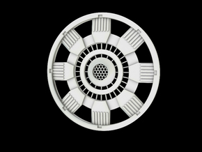 Iron Man Mark IV Arc Reactor (1 of 2 parts) in Frosted Ultra Detail
