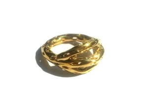 Goldmine Ring in 14k Gold Plated