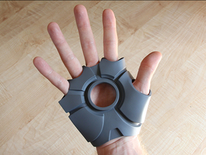 Iron Man Right Palm (Medium/Large) in White Strong & Flexible
