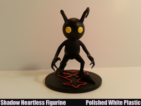 Shadow Heartless Figurine in White Strong & Flexible Polished
