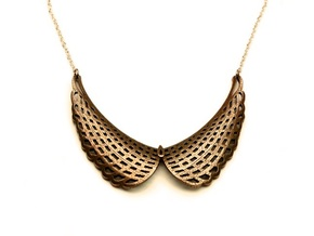 Collar Necklace (Mesh Edition) in Stainless Steel