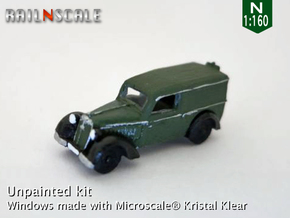DKW F7 Front Lieferwagen (N 1:160) in Frosted Ultra Detail