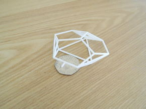 Asp Mk II Wireframe 1-300 in White Strong & Flexible
