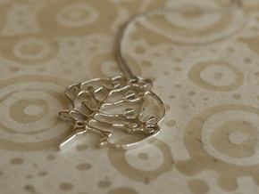 Neolithic 'Tree Of Life' Pendant in Premium Silver