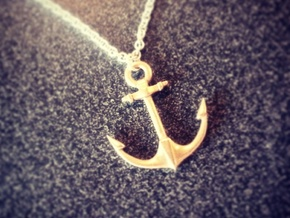 Anchor of Hope  in Raw Bronze