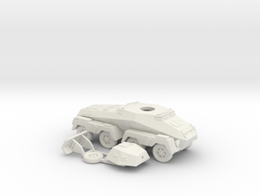 1/87 (HO) SdKfz 232 in White Strong & Flexible