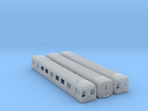 Comeng 3 Car Set M-T-M (No Chassis) - N Scale in Frosted Ultra Detail