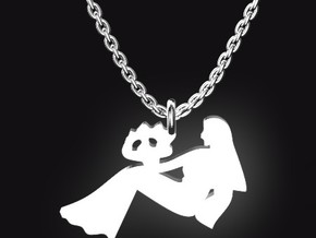 VIRGO for 8/23~9/22 birth.  in Stainless Steel
