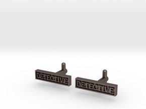 Detective Cufflinks (Style 2) REVISED in Stainless Steel