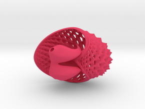 Mini Tuskshell in Pink Strong & Flexible Polished