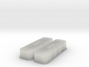 1/16 BBC Dart Logo Valve Covers in Frosted Ultra Detail
