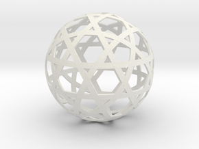 Stripsphere12b in White Strong & Flexible