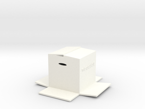 BOX in White Strong & Flexible Polished