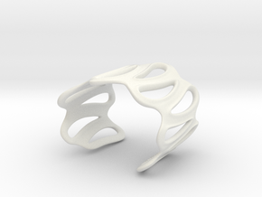 sinuous bracelet 64 in White Strong & Flexible
