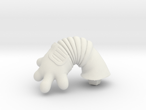 Chicken-Hand-r-dyna in White Strong & Flexible