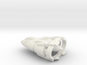 Slipstream I-C Advanced Tactical Fighter in White Strong & Flexible