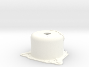 "1/8 Lenco 9.4"" Dp Bellhousing (No Starter Mnt) in White Strong & Flexible Polished"