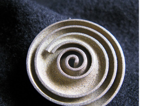 InFin Nautilus: Pendant - Large in Stainless Steel