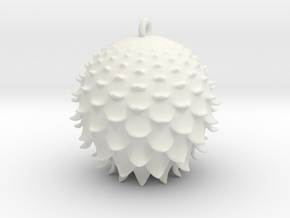 Thistle Ball in White Strong & Flexible