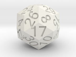 D30 Solid in White Strong & Flexible