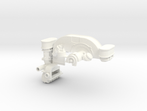 FA10001 Engine for Tamiya Wild One, FAV in White Strong & Flexible Polished