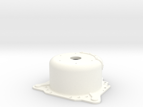 "1/8 Lenco 8.125"" Dp Bellhousing(No Starter Mnt) in White Strong & Flexible Polished"