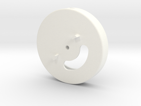 Ph1 Pol filter wheel in White Strong & Flexible Polished