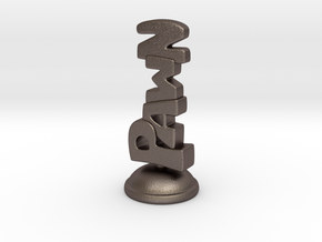 Pawn in Stainless Steel