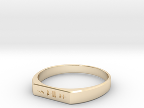 Ring Play in 14K Gold