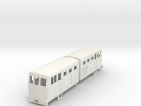 009 double diesel loco to fit short bogie chassis  in White Strong & Flexible