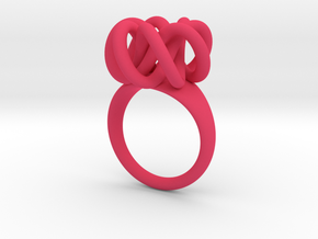 Infinity Ring in Pink Strong & Flexible Polished