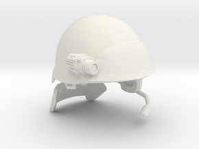 "USCM Helmet for 7"" figures in White Strong & Flexible"