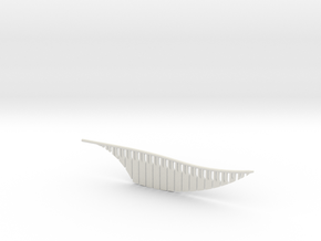 Snitch Wing (Lifesize) in White Strong & Flexible