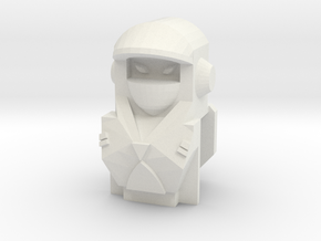 Ninja Robot Lady Upgrade in White Strong & Flexible