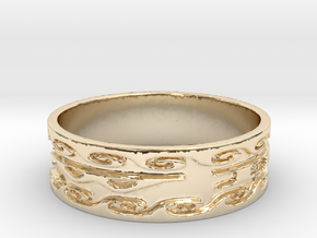 Return With Honor #5 (Size 5) in 14K Gold