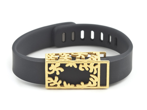 Steel Matisse slide for Fitbit Flex in Polished Gold Steel