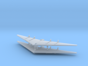 1/700 Northrop YB-49 Flying Wing (x2) in Frosted Ultra Detail