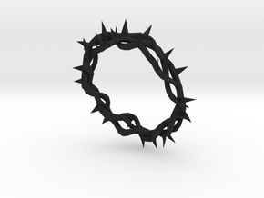 Crown of Thorns  in Black Acrylic