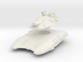 T-667 Hover Tank in White Strong & Flexible