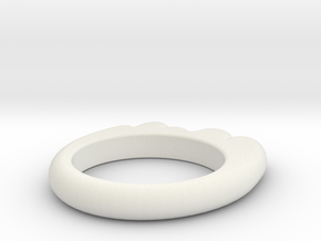 Glop Ring in White Strong & Flexible