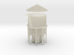Water Tower - Z scale in Transparent Acrylic