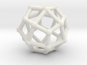 Deltoidal icositetrahedron in White Strong & Flexible
