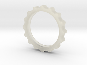 Curvy Ring in Transparent Acrylic